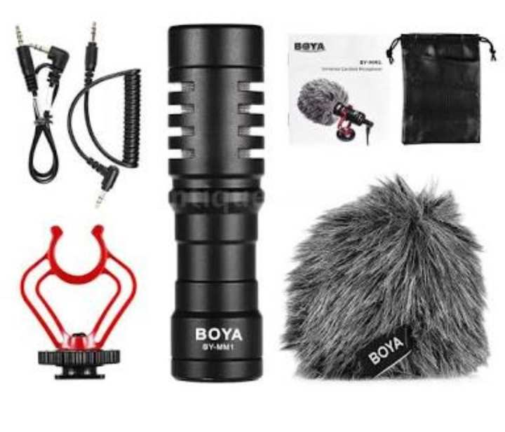 Professional Mic Boya By MM-1 for DSLR