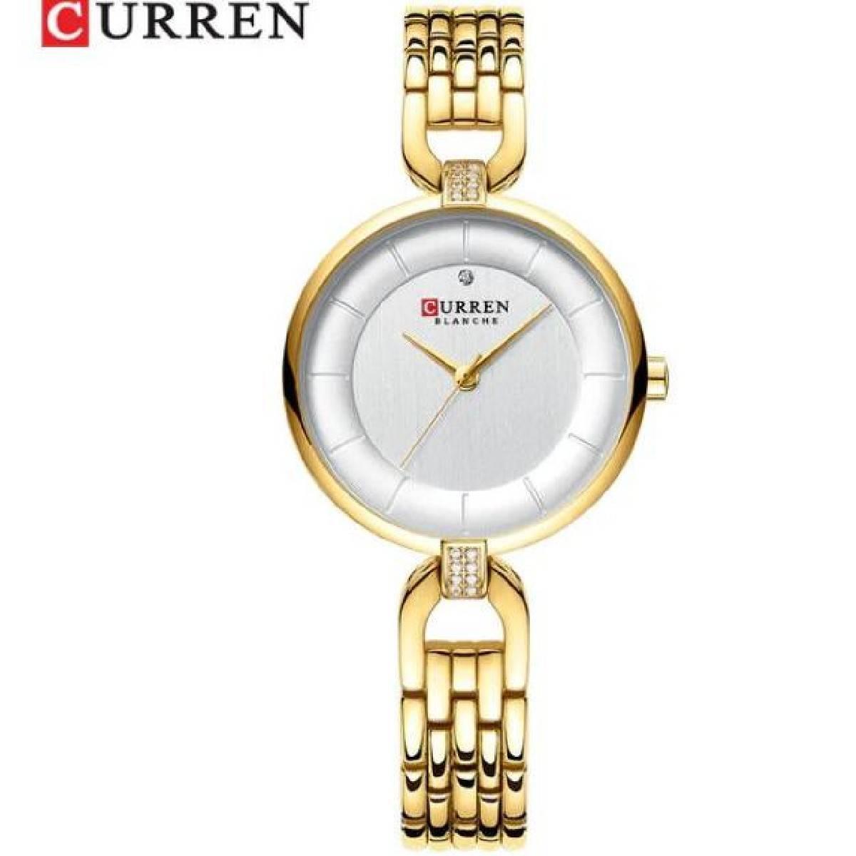 CURREN Latest 2020 Stainless Steel Waterproof Japan Quartz Wristwatch With Brand Box - 9052