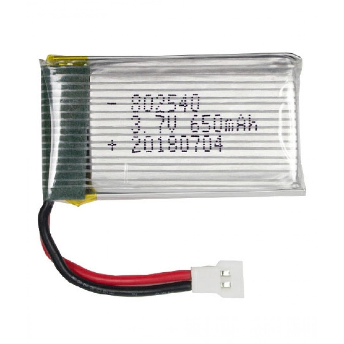 3.7V 650mAh 25C lipo battery for drones toys and DIY projects
