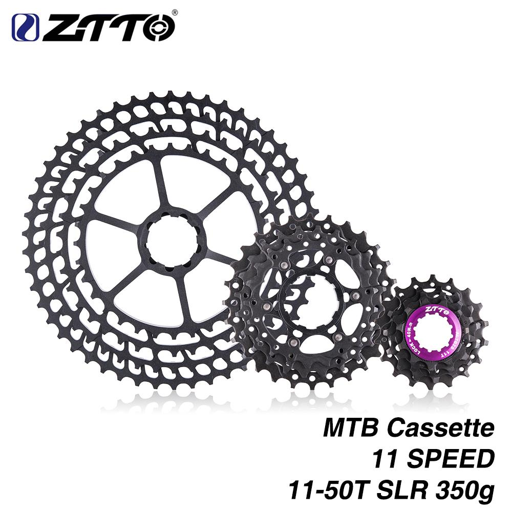 MTB 11 Speed Cassette 11-50T Wide Ratio Ultra Light 350g CNC Freewheel  Mountain Bike Bicycle Parts - intl