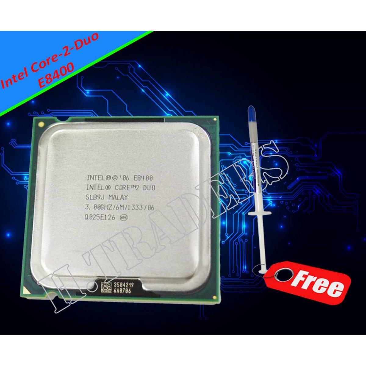 Original Intel Core 2 Duo E8400 Cpu Core 2 Duo Processor E8400 (3.0Ghz/ 6M /1333Ghz)