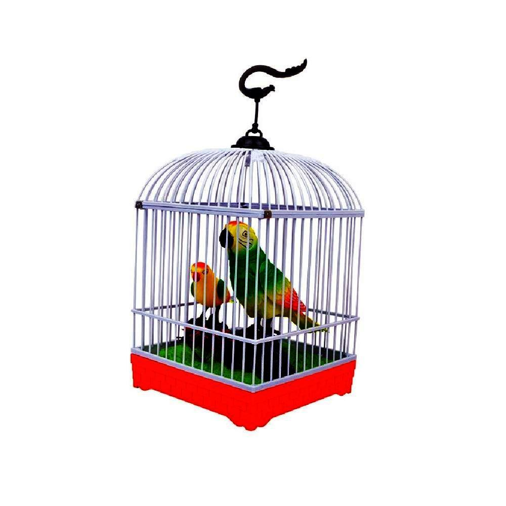 Beautiful Electronic Birds Singing Moving Chirping Toy Pet Birds In Cage Buy Online At Best Prices In Pakistan Daraz Pk