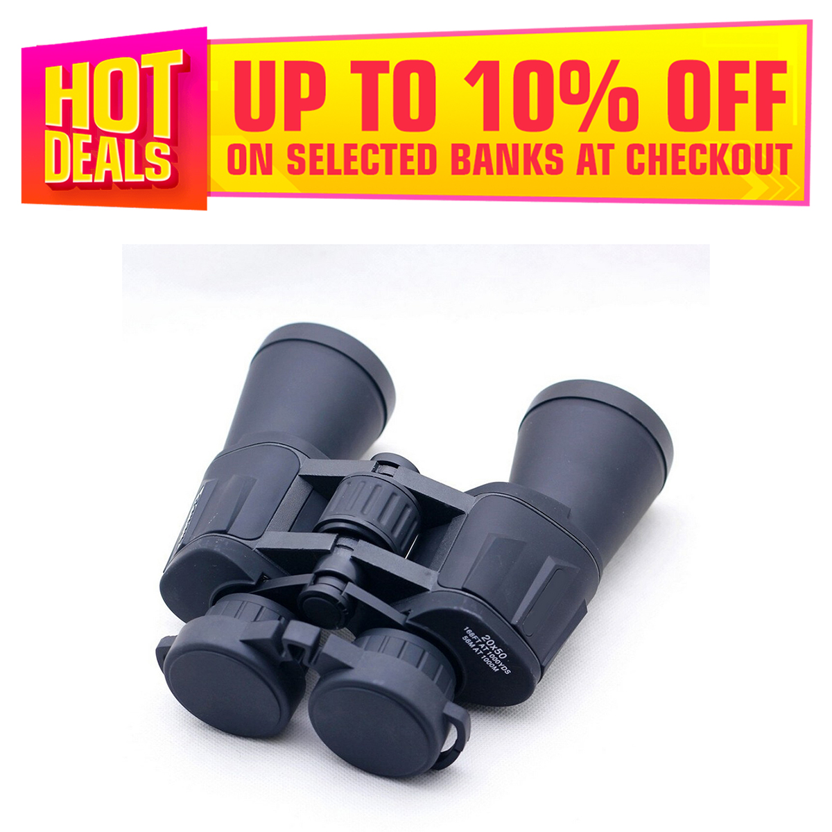 Canon Binoculars HQ 20x50 for Outdoor Travel Camping and Hiking