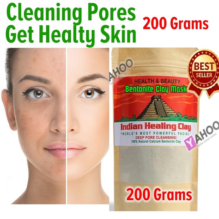 Skin Pore Cleansing Indian Healing clay 200 gm Sample