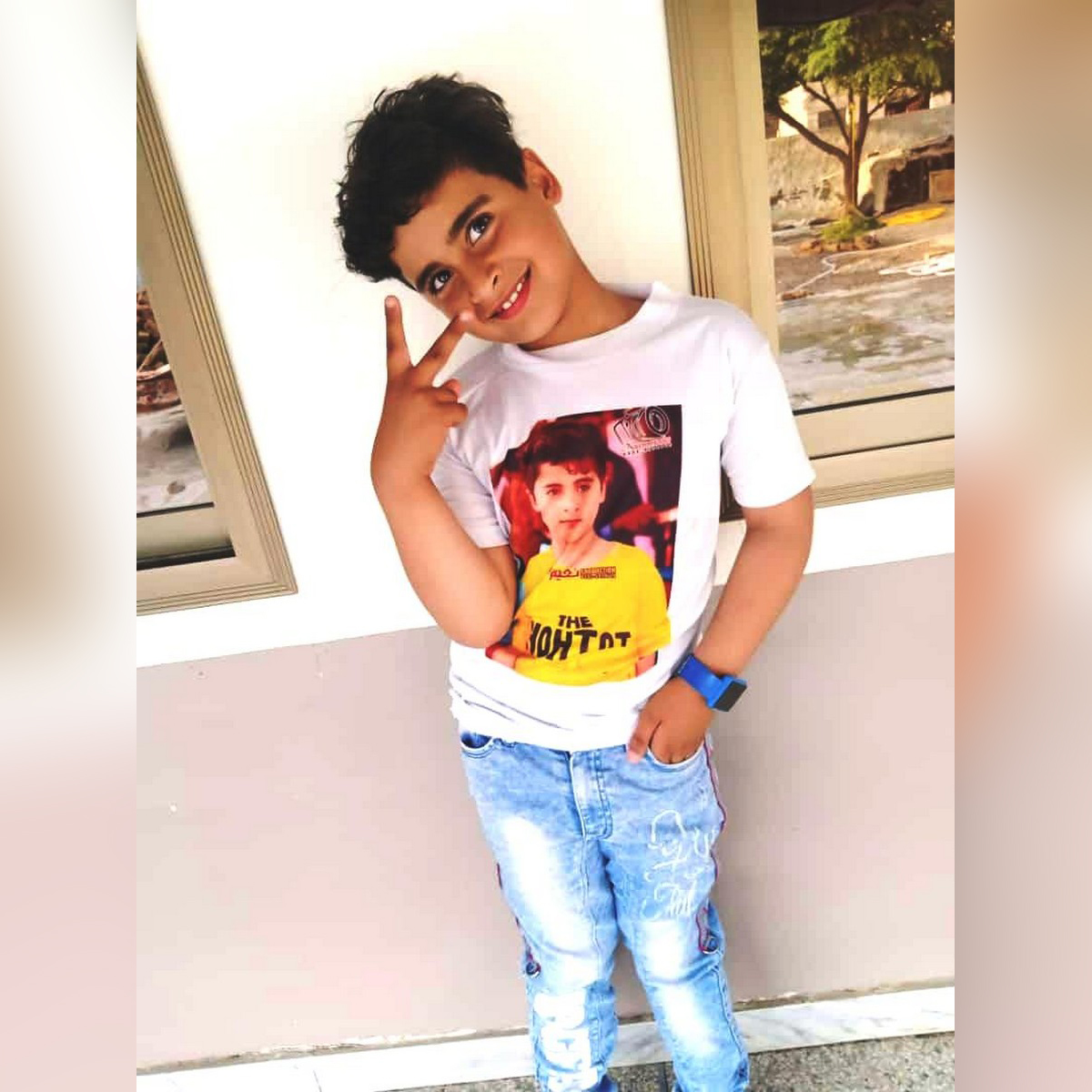 Customized T Shirt for Boys - Print your own Photo & Name