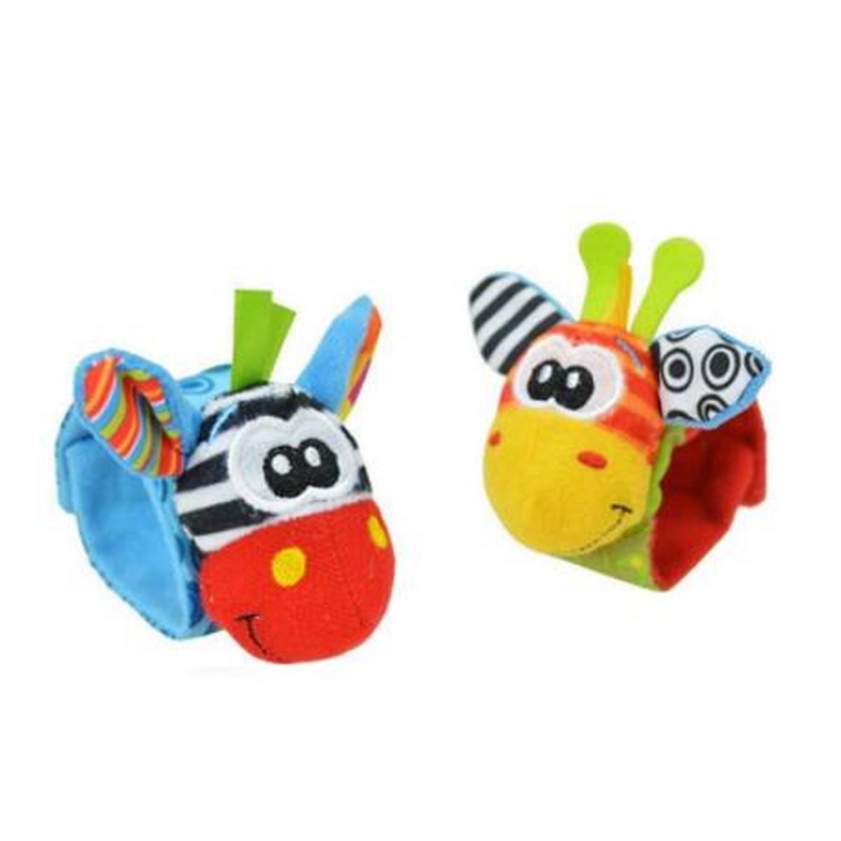 Baby Wrist Rattles Soft Plush Toy Newborn Educational Toy