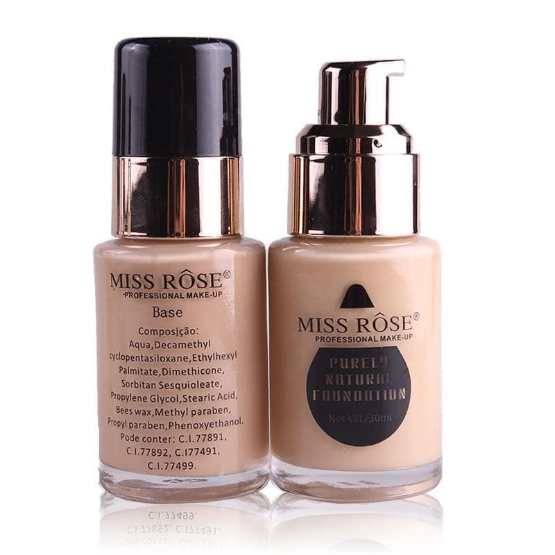 MEGA SALE Miss_Rose_Liquid Foundation - Makeup Cover Liquid Foundation - All Shades available