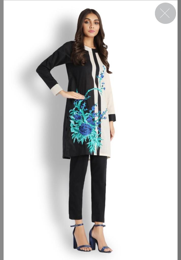 Women's Clothing Sunny Junaid Jamsed J.pretwear Kurta Xl Clothing, Shoes & Accessories