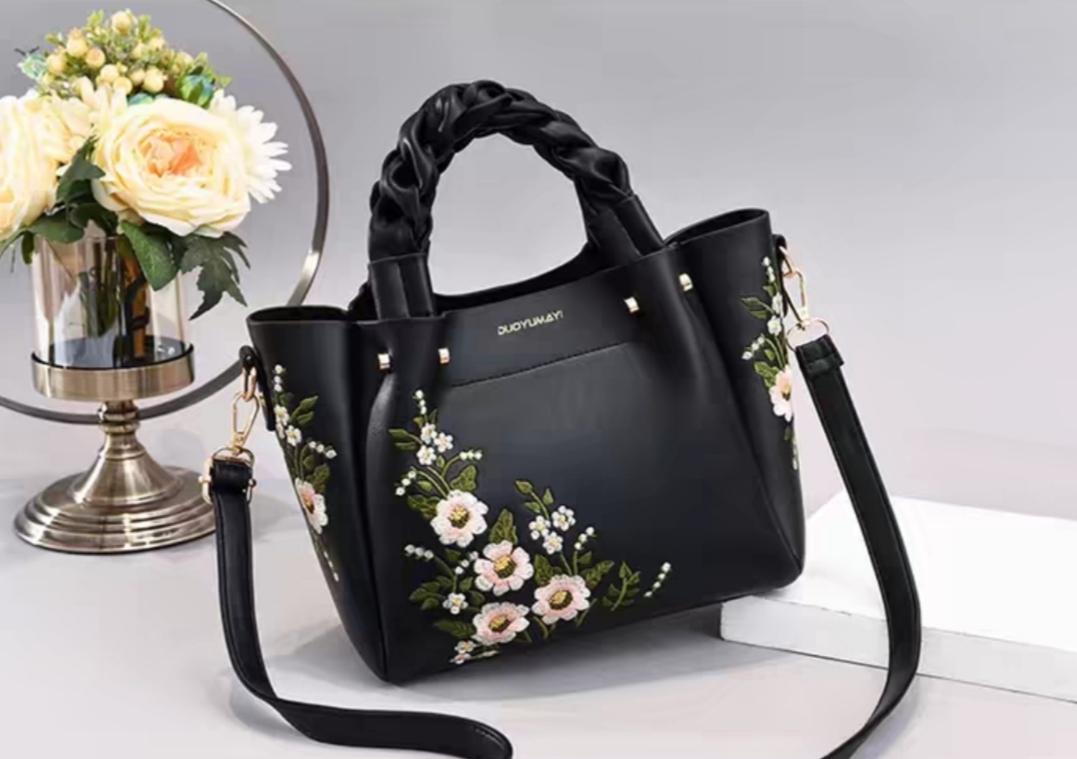 Lovely Handbag for Women Fashion Flamingo Hairball Tote Messenger Bag Shoulder Bag PU Leather Luxury Designer Bolsa Feminina