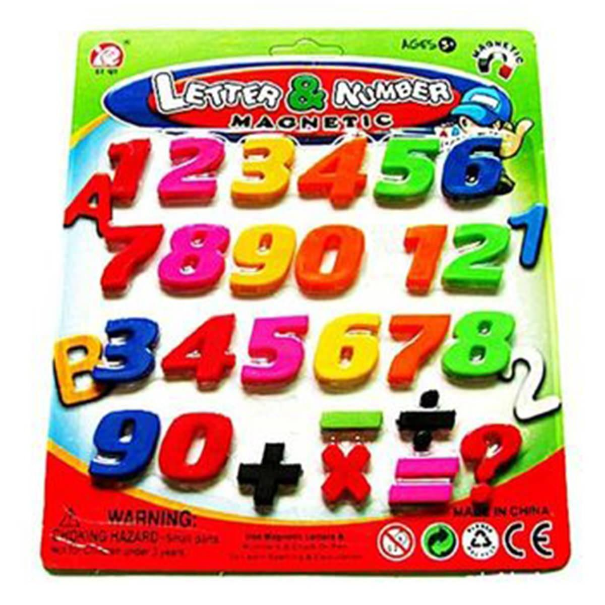 Creative Magnetic Alphabet Letter Refrigerator Magnets Learning Toy for Kids