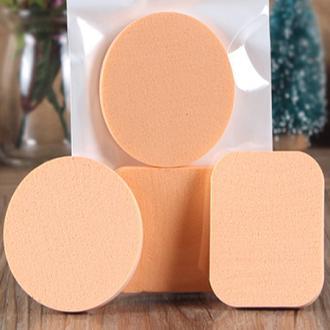 2PCS Spong Cosmetic Puff 1 Face Soft Women Lady Beauty Makeup Foundation Contour Facial Sponges Powder Puff 10.15