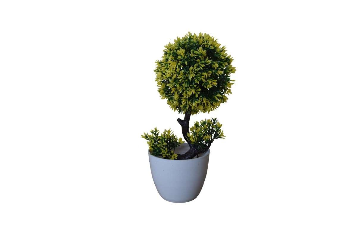 New Decorative Artificial Flower Pot with Flowers for Wedding Home  Decoration Type 4