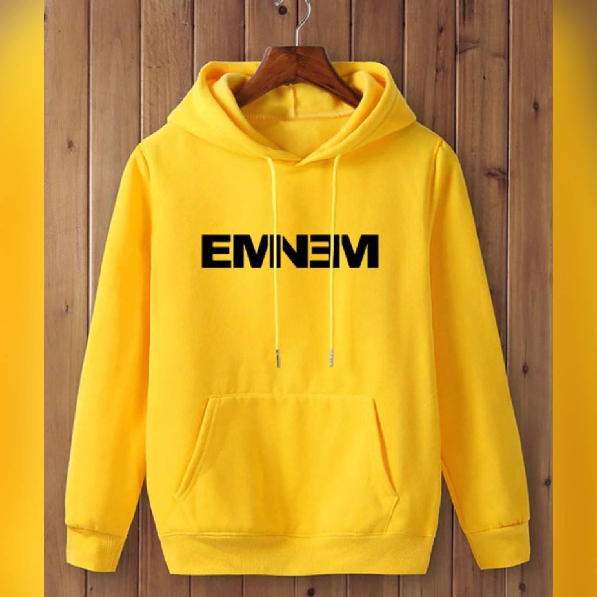 Eminem Print Pullover Hooded Hoodie for men