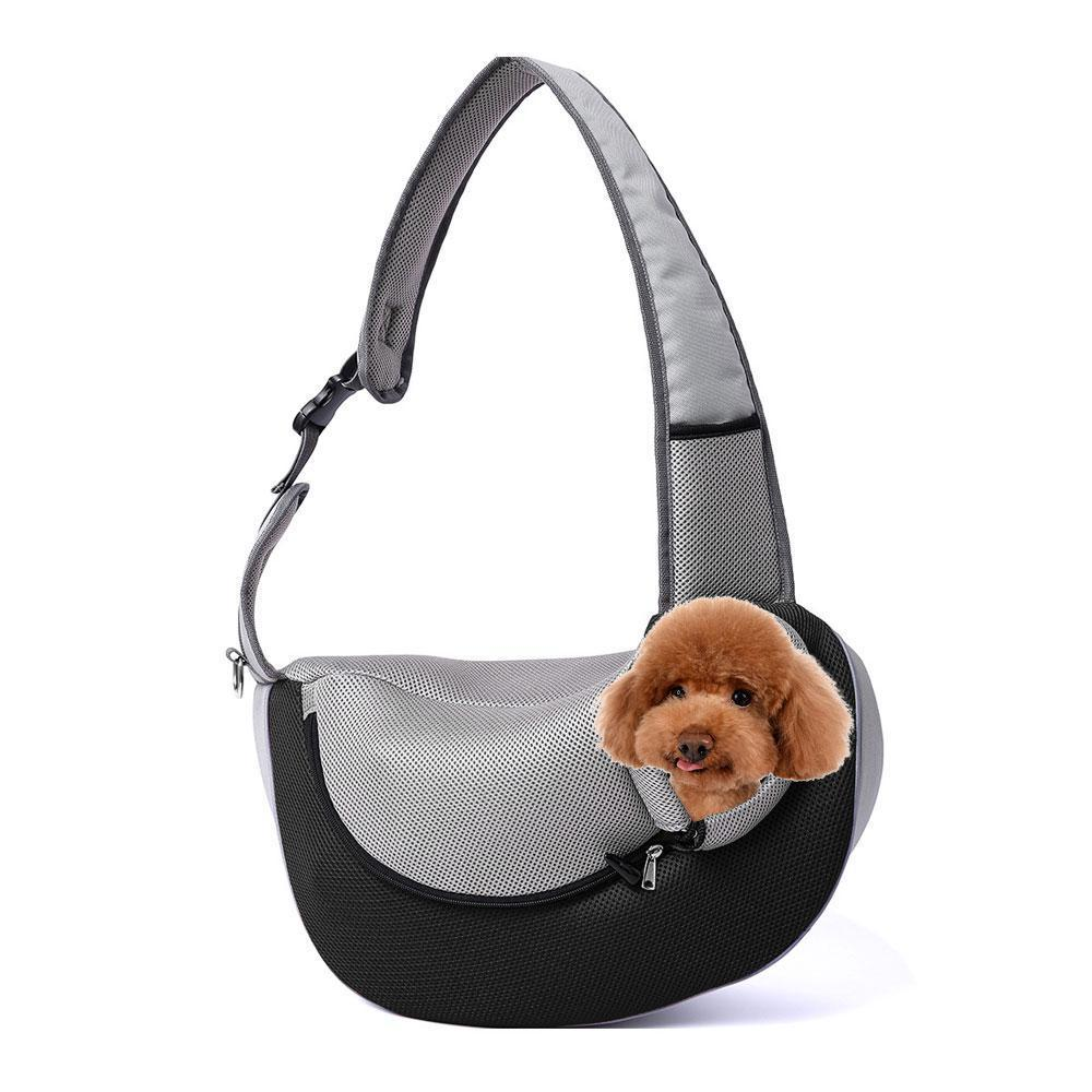 398de0da387d Pet Carrier Sling Bag for Small Dogs Puppy and Cat, Breathable Mesh Travel  Puppy Carrying Shoulder Bag