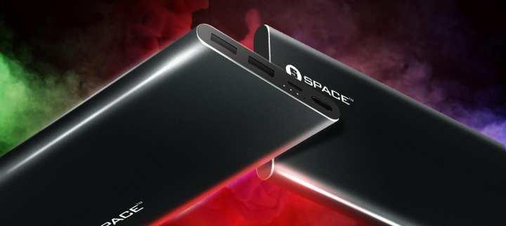 Power Bank Blade 10000mAh Ultra Slim Metallic BD-046 SPACE