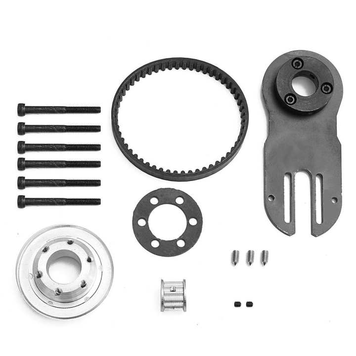 16PCS DIY Electric Skateboard Parts Pulley Motor Mount Kit For 83/90/97MM Wheels