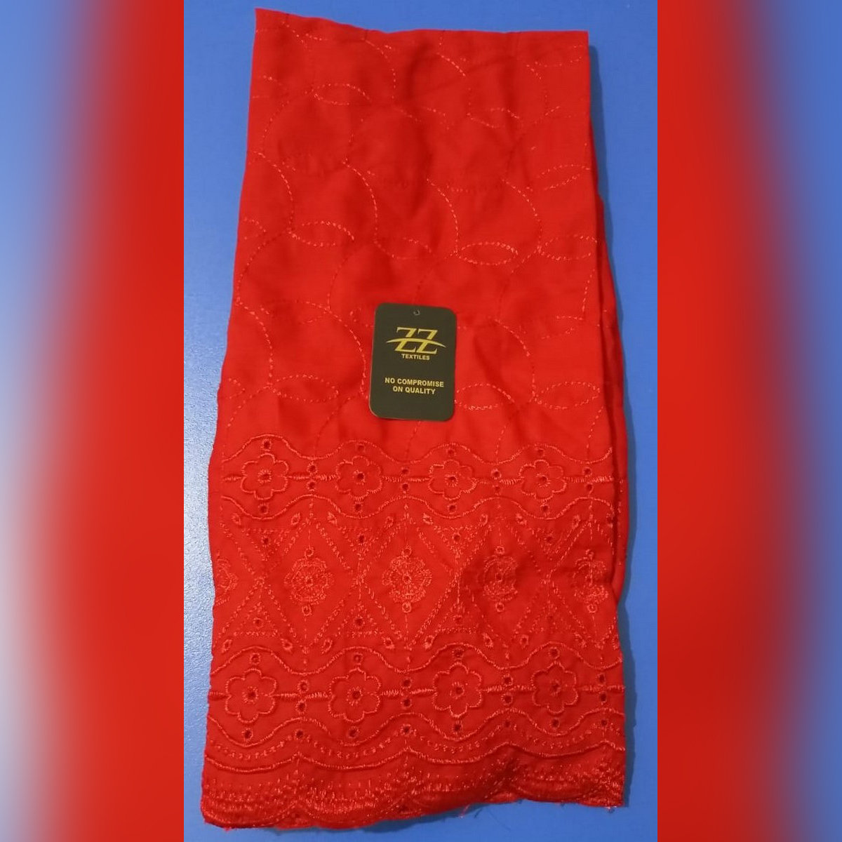 Cotton Embroidered Trouser for Women