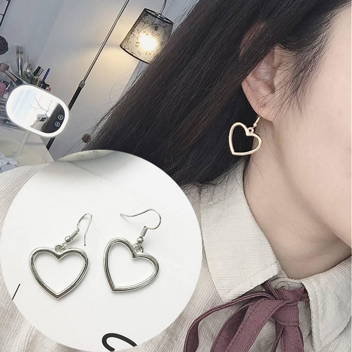 Kaytlins Heart Shape Earrings For Girls - New Arrivals