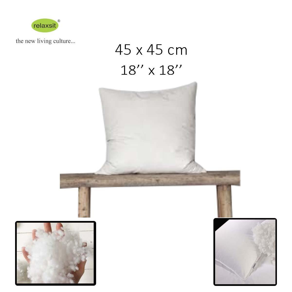 Cushion Filling case 18  X 18  or 45 x 45cm  Square Poly Pillow Insert Pillow Inner Square Throw Pillow Case Decorative sofa Cushion Cover