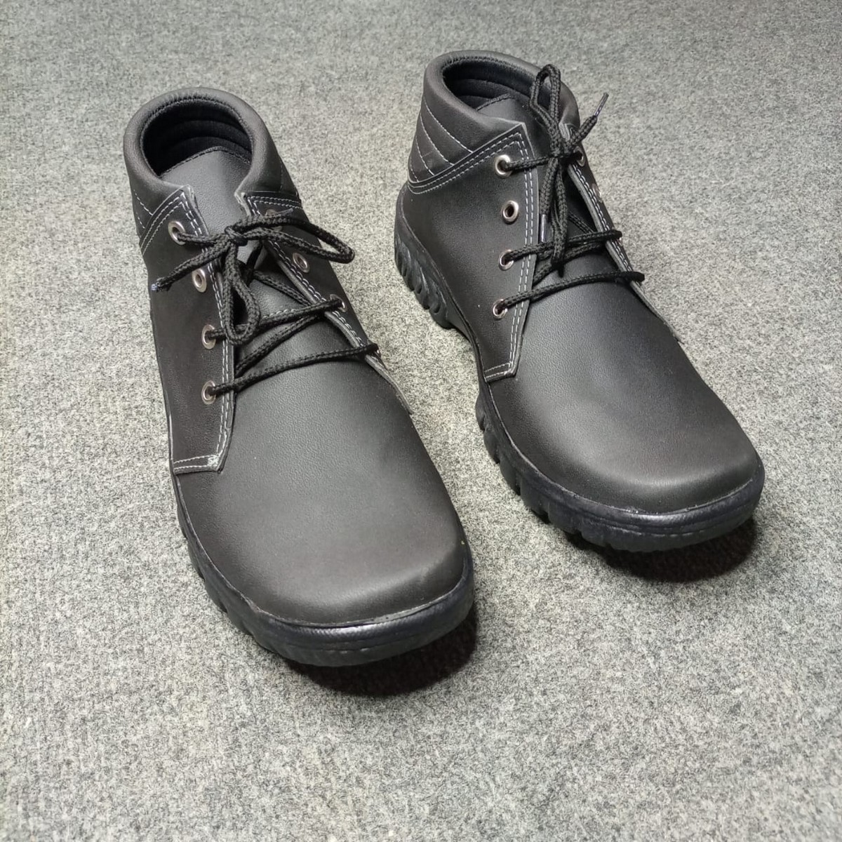 (MK) - Black Daily Use Long Shoes for Men CTBL1
