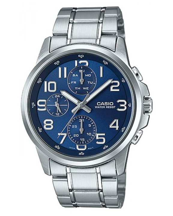 Casio - Mtp-E307d-2adf - Stainless Steel Watch For Men