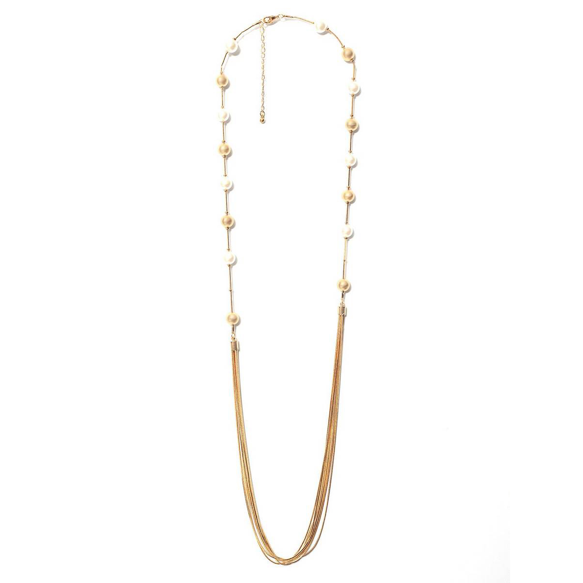 LimeLight Golden PEARL NECKLACE  For Wome CN889-FRE-GDN