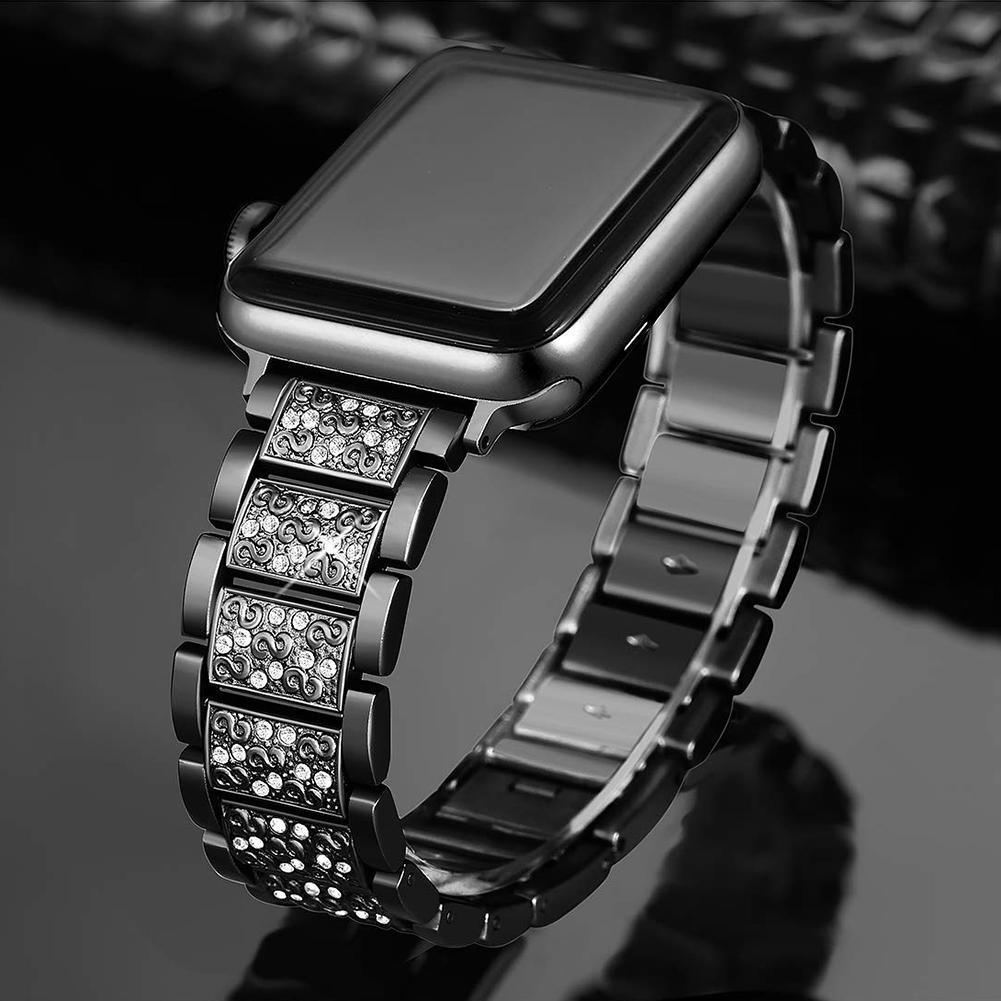 Sunborui Shining Diamond Watch Band Bracelet Wrist Strap ...  Sunborui Shinin...