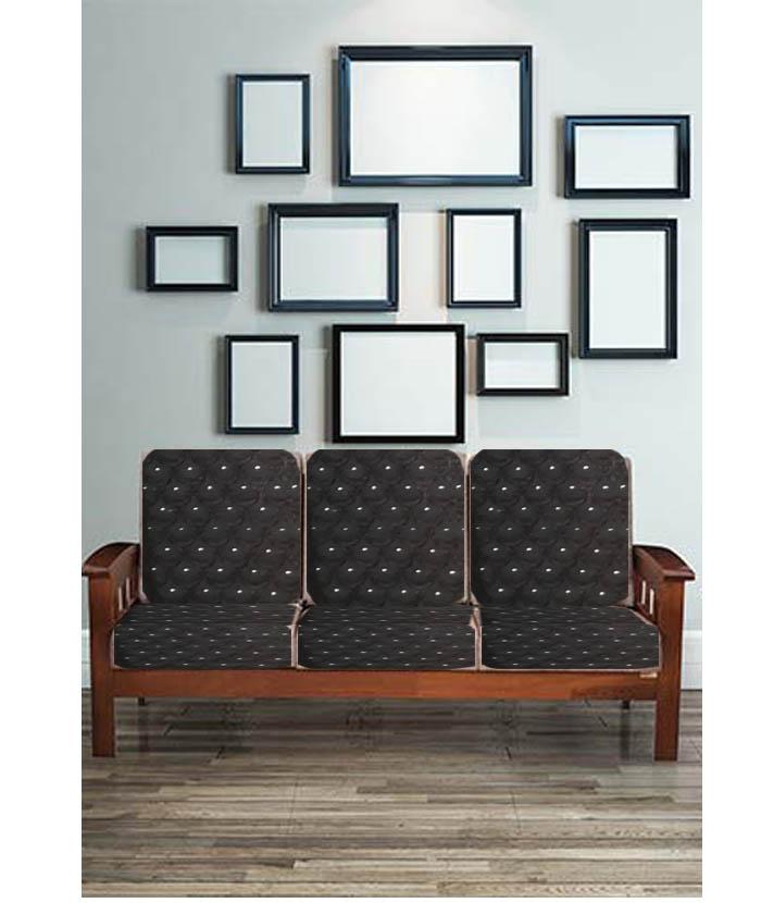 Sofa Gadi Covers - Gaddi Set - Cushion Covers - Sofa Covers - Sofa Seat Covers - Wooden Sofa Coversv - 10 pcs