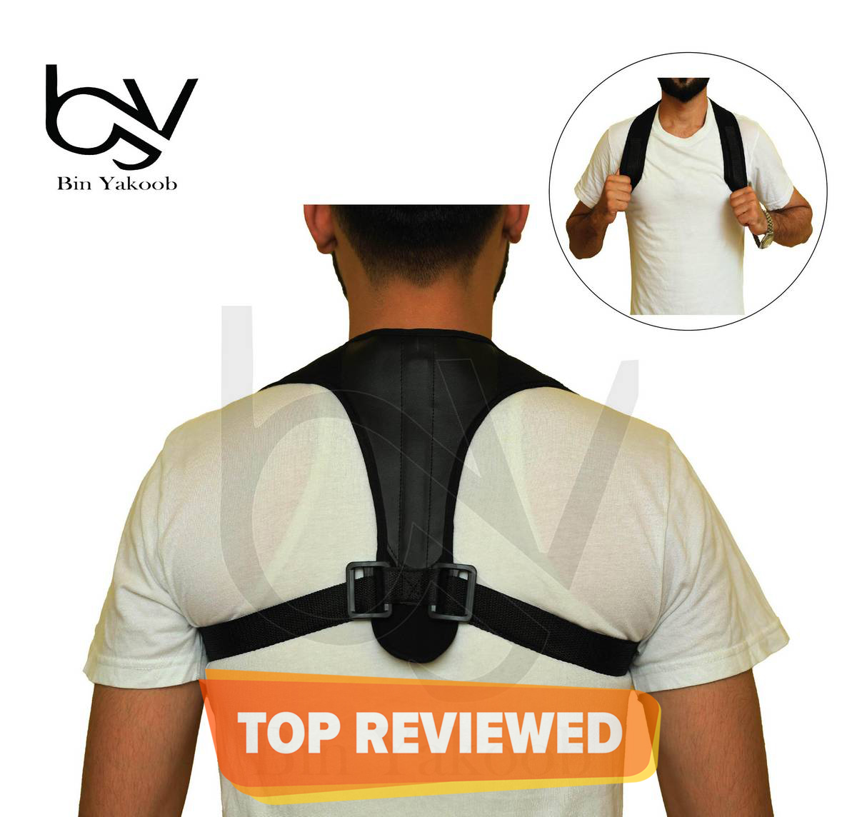 Posture Corrector Belt All Sizes for Men and Women- Therapy Posture Corrector Fully Adjustable Straightener, Back Pain Relief-Breathable Back Support Belt Posture Corrector