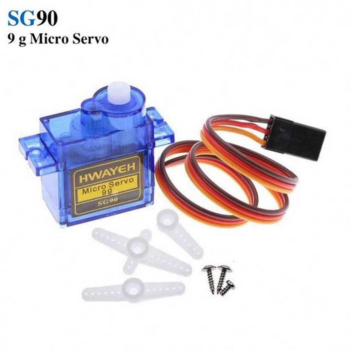 TowerPro SG90 9g Micro Servo Mini Gear Motor RC