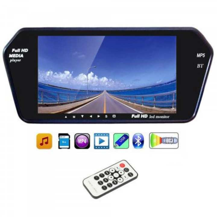 7 inch RearView Mirror LCD Monitor Universal