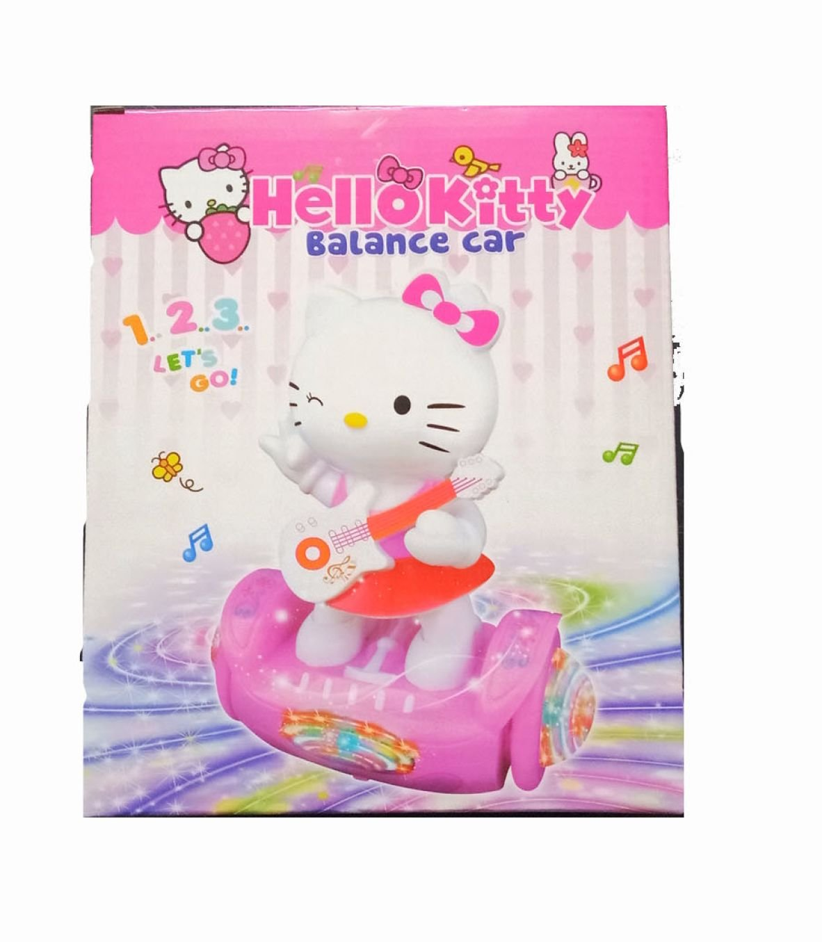 Hello Kitty - Balance Car Toy for Kids