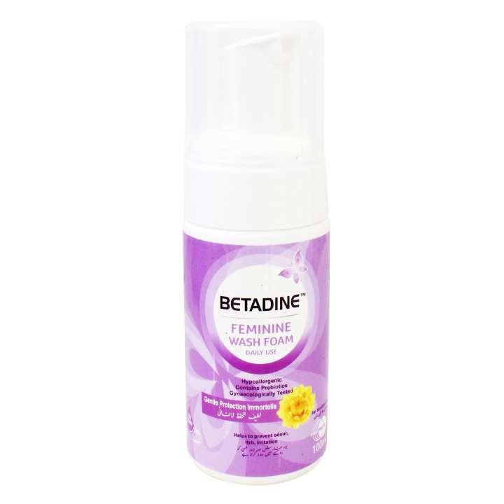 Betadine Feminine Foam 100ml