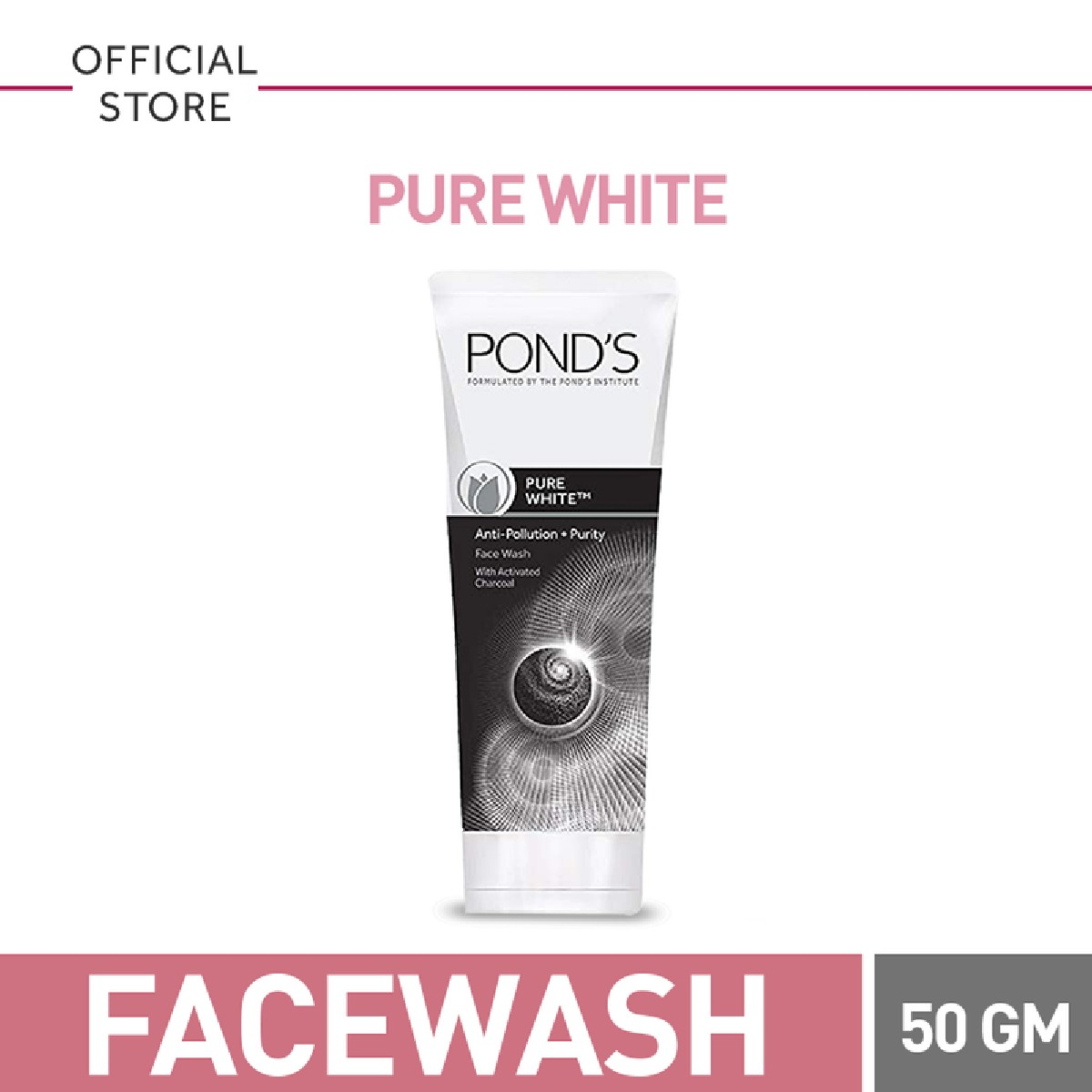 Ponds Pure White Face wash 50gm