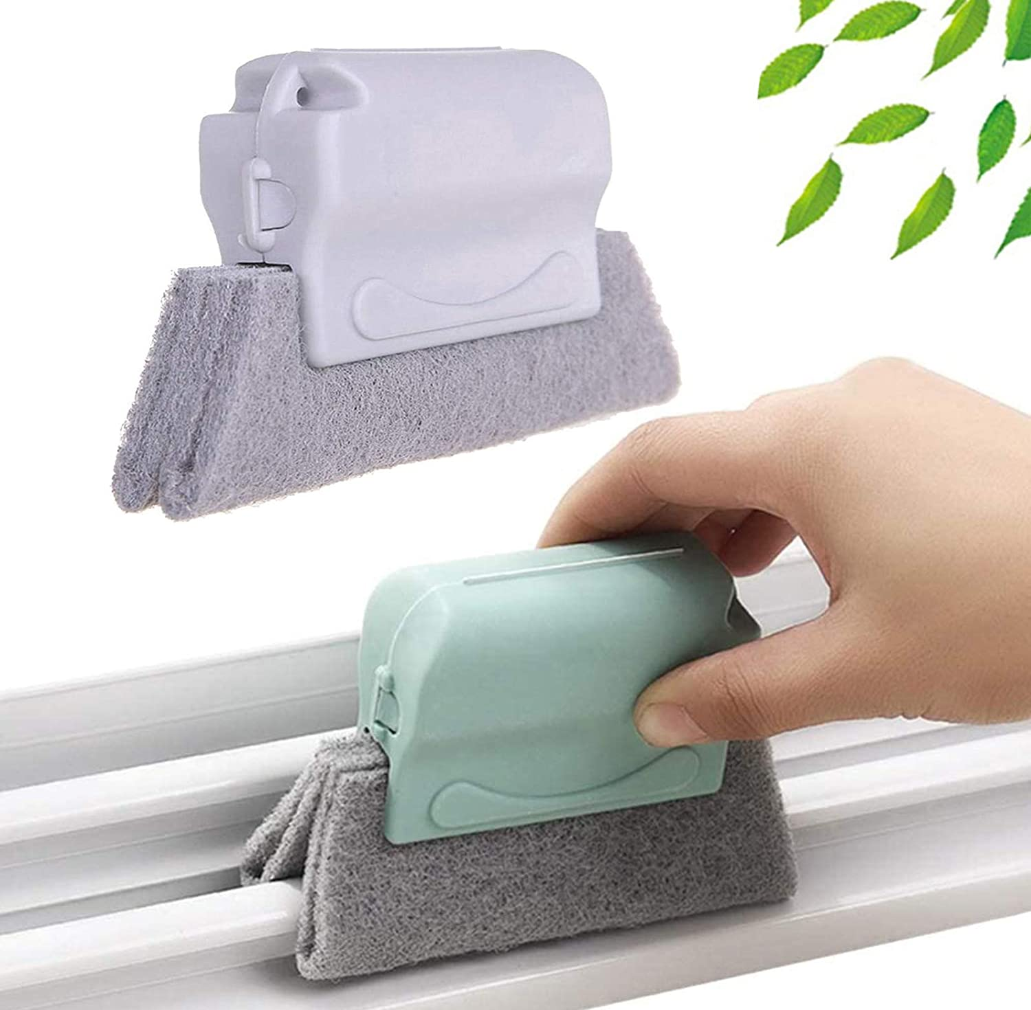 Multipurpose Windows Groove Cleaning Brush  Window Cleaner  Window Cleaning Brush  Windows Rust Cleaner  Toilet Seat Corner Cleaner  Cleaning Sponge  Kitchen Corner Cleaning Sponge  Stove rust removing tool  Stove Cleaner Foam  Cleaning Gadget