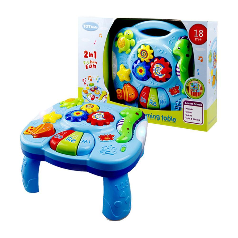 c Table Toy Kids Learning Study Playing Toy Musical Instruments Educational Toys