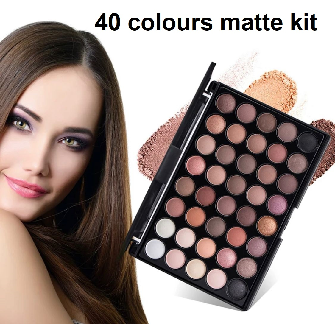 Eyeshadow Palette many Colors Glitter Matte Shimmer Eye Shadow Makeup Cosmetic Kit travel friendly, completely different, gift able, innovative, beautiful palettes College Girls easy to carry Eye Shadow Makeup Cosmetic Kit Multicolor Eyes shadow