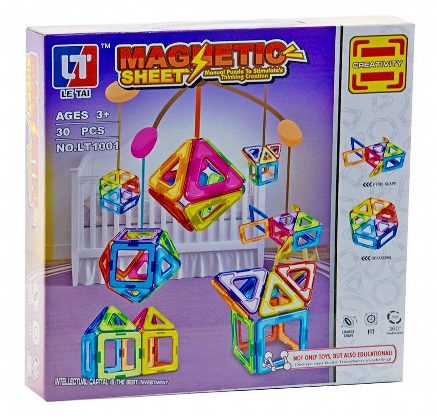 Magnetic Creativity Tiles Castle Blocks