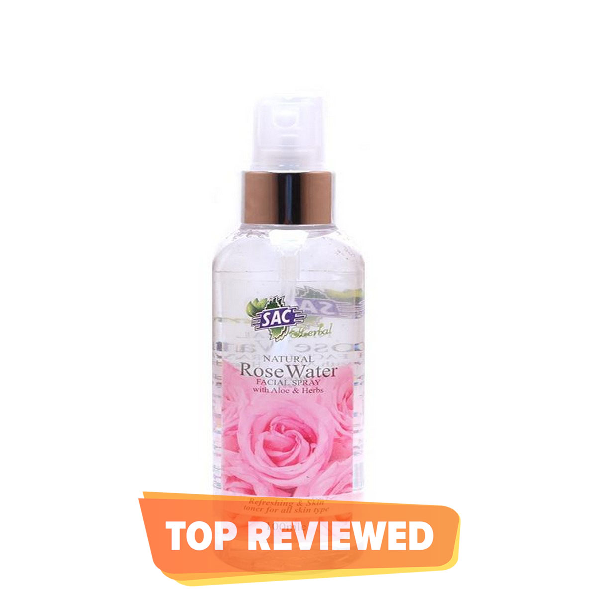 Rose Water - Spray 120ml - 100% Pure - SAC