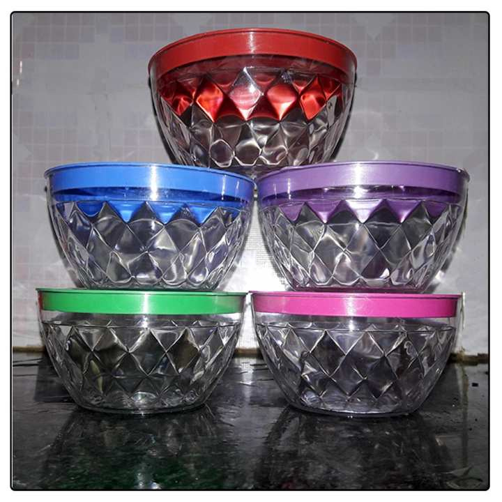 Crystal Type Plastic Box (5 pcs)