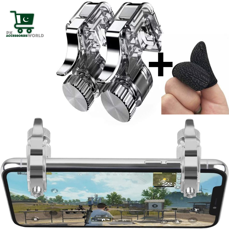 R11 Mobile Game Metal Trigger Controller button L2 R2 for PUBG Gaming