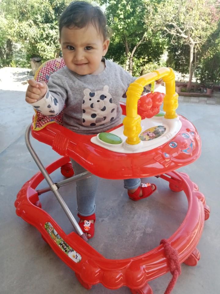 Baby Walker With U Shape Toys Hanger