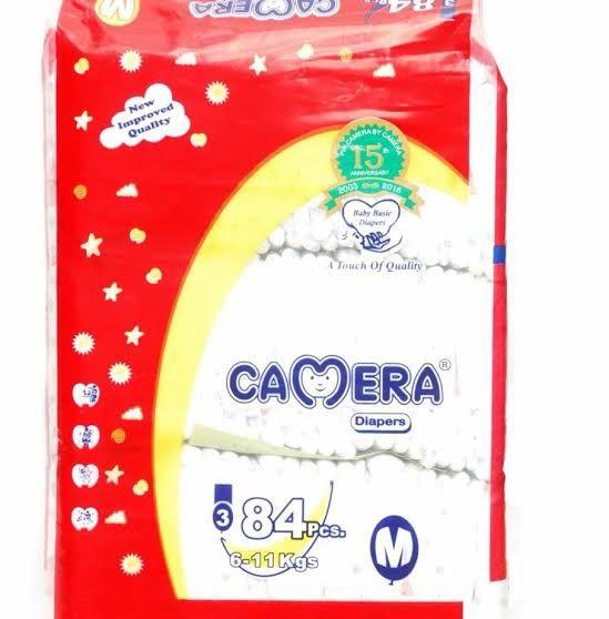 Camera Diaper Medium 84 pieces