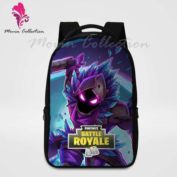 Raven Fortnite Printed Backpack