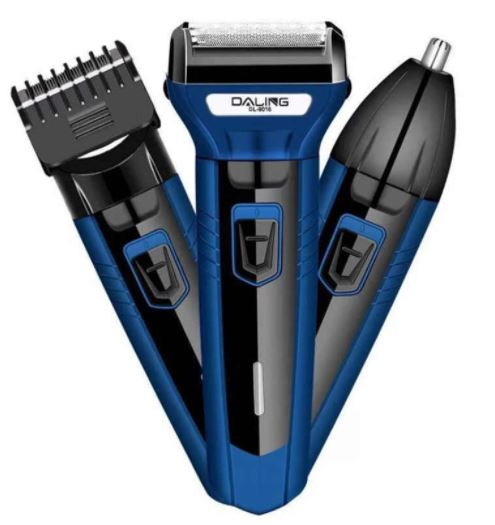 BRANEDE New daling 3 In 1 Rechargeable Hair Clipper DL 9016 'Shaver beard Styling Hair Removal machine