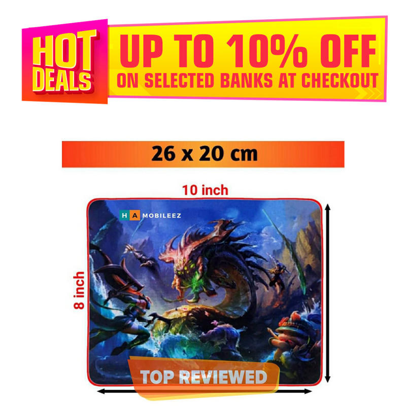 Dragon Gaming mouse pad - mouse pad for office use - good quality