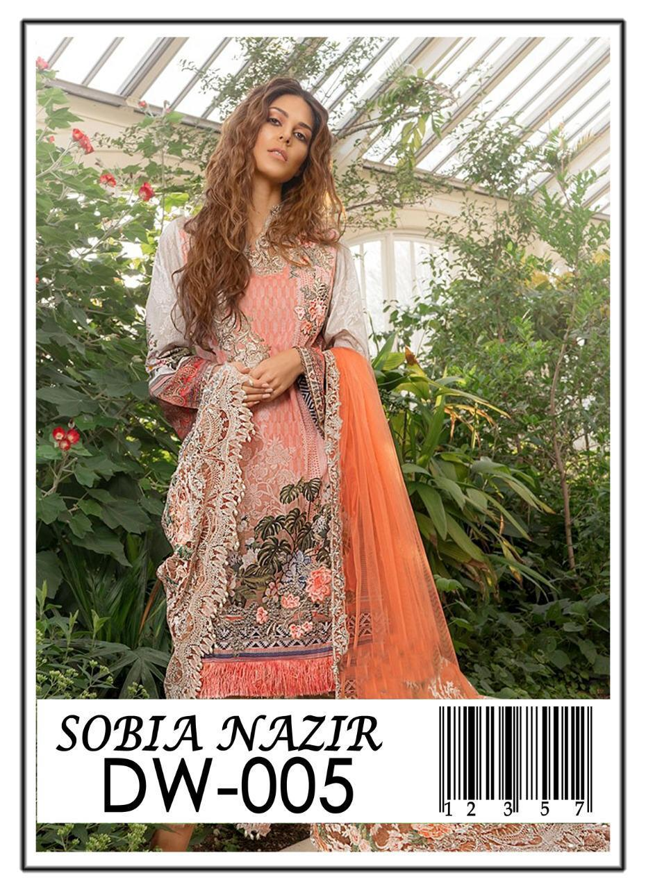 4ae3fdefd1 Sobia Nazir Summer Collection 2019/Fully Heavy Embroided 3 Pcs Suit/ Eid  Collection 2019
