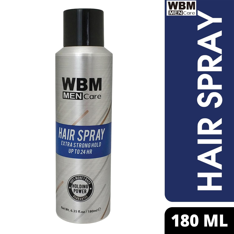 WBM Men Care Hair Spray - Super Strong Hold - Long Lasting Hair Spray For Men & Women