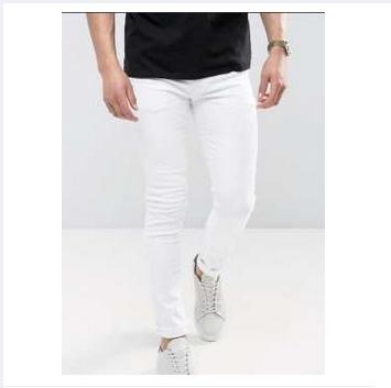 White Slim Stretchable jeans