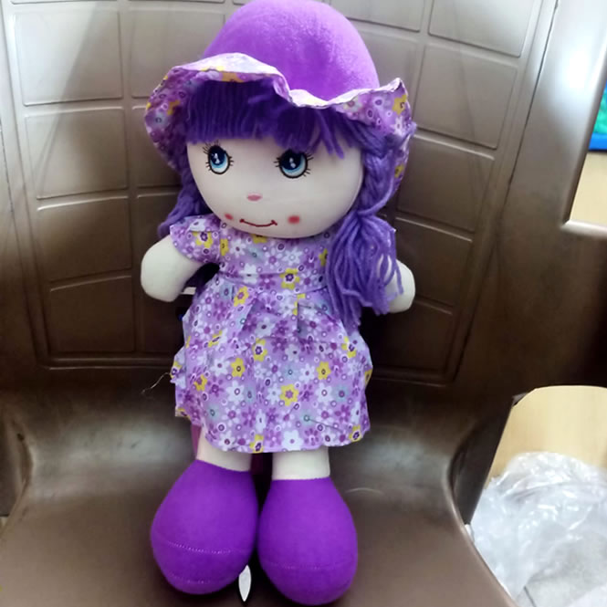 Stuffed Doll for Girls 15 Inches - Excellent Stuff Toy for Girls
